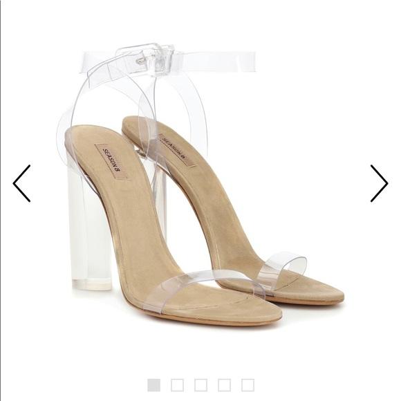 e5f07811e Yeezy Shoes | Season 6 Transparent Heels Used 38 | Poshmark